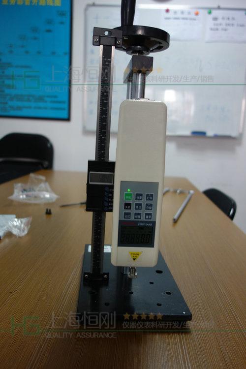 螺旋式拉压力测试台图片
