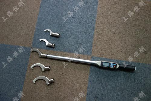 手动数显扭力检测扳手 可换勾头