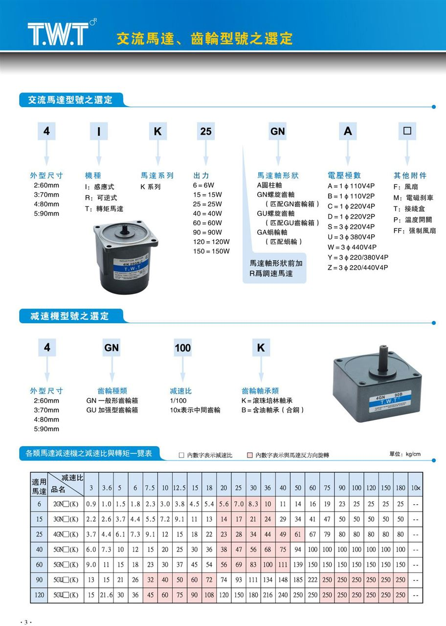 TWT东炜庭感应电机