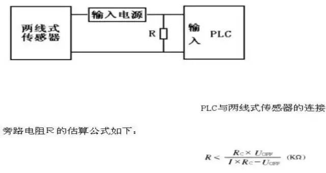 可能呈现过错的输入信号而导致plc的误动作,此刻可在plc输入端并联