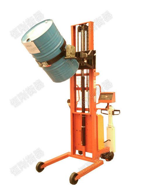 半电动油桶堆高车电子秤