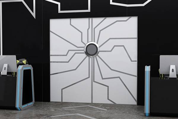 智能科技门